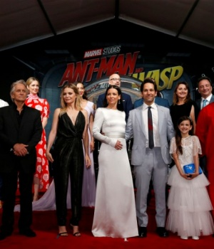 """Cast members and crew attend the premiere of the movie """"Ant-Man and the Wasp"""" in Los Angeles"""