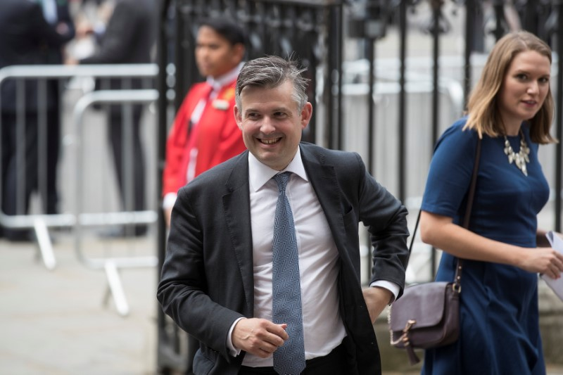 Britain's Shadow Secretary for Health, John Ashworth arrives for a service to commemorate the 70th anniversary of the National Health Service (NHS) at Westminster Abbey in London