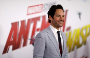 """Paul Rudd attends the premiere of the movie """"Ant-Man and the Wasp"""" in Los Angeles"""