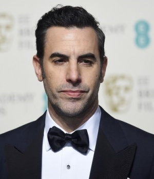 Presenter Sacha Baron Cohen poses at the British Academy of Film and Television Arts (BAFTA) Awards at the Royal Opera House in London