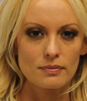 Franklin County Sheriff's Office booking photo of Stephanie Clifford also known as Stormy Daniels