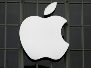 The Apple Inc. logo outside the Worldwide Developers Conference in San Francisco