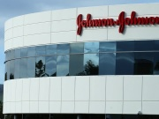 A Johnson & Johnson building is shown in Irvine, California