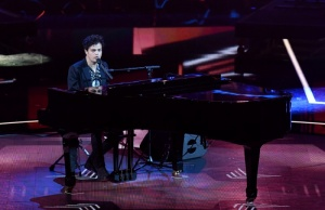 "Jamie Cullum performs during a special concert ""The Queen's Birthday Party"" in London"