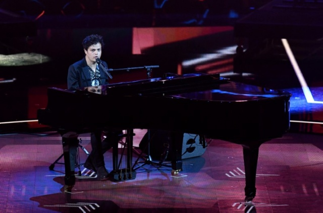 Jamie Cullum performs during a special concert