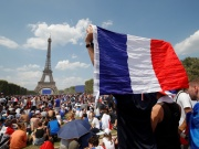 World Cup - Final - France fans watch France v Croatia