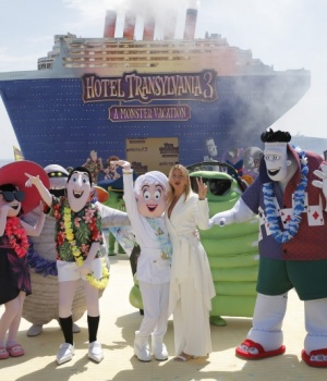 """71st Cannes Film Festival – Photocall for the animation film """"Hotel Transylvania 3: Summer Vacation"""" out of competition"""