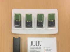 Juul e-cigarette starter pack is seen in this picture illustration