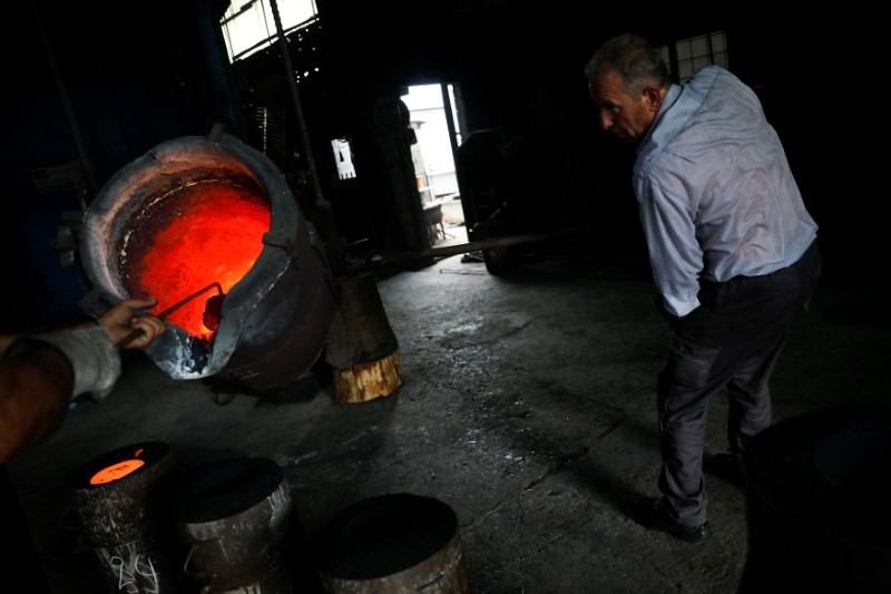 The Wider Image: Greece's last bellmakers keep time-honoured trade alive