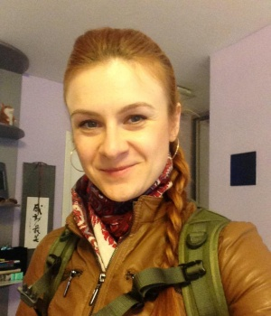 Social Media photo of alleged Russian agent Maria Butina