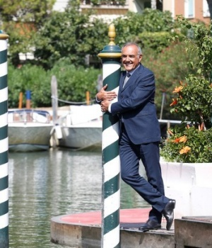 Venice Film Festival Director Barbera poses a day before the opening of the 74th Venice Film Festival in Venice