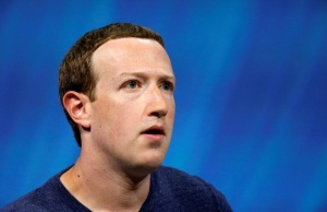 Facebook's founder and CEO Mark Zuckerberg speaks at the Viva Tech start-up and technology summit in Paris