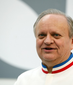 French Chef Joel Robuchon attends the opening of the Taste Festival at the Grand Palais in Paris