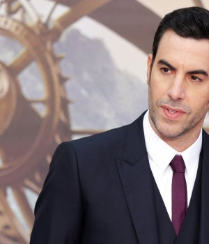 Actor Sacha Baron Cohen arrives at the European Premiere of Alice Through the Looking Glass in London
