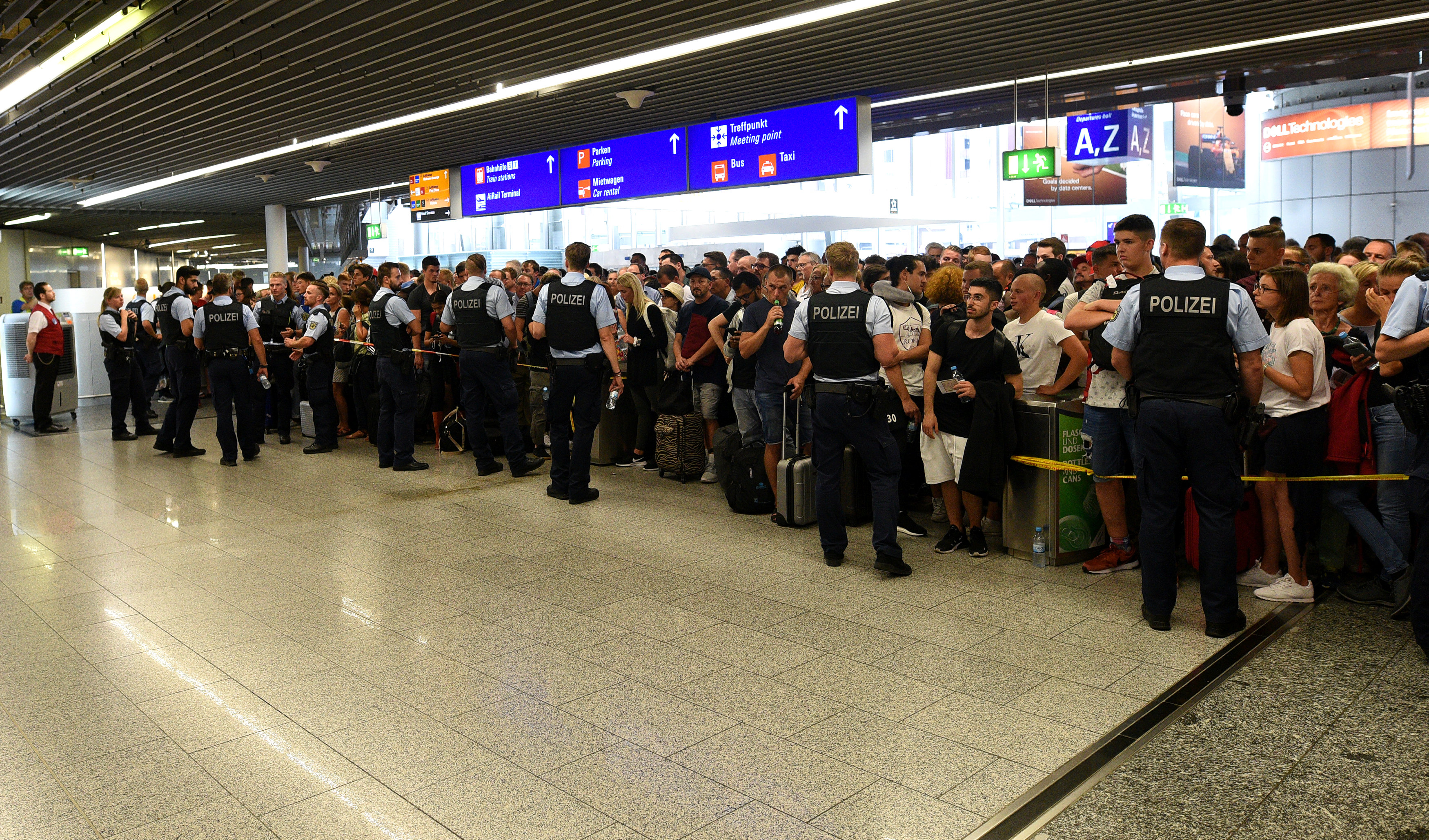Evacuation of Frankfurt airport