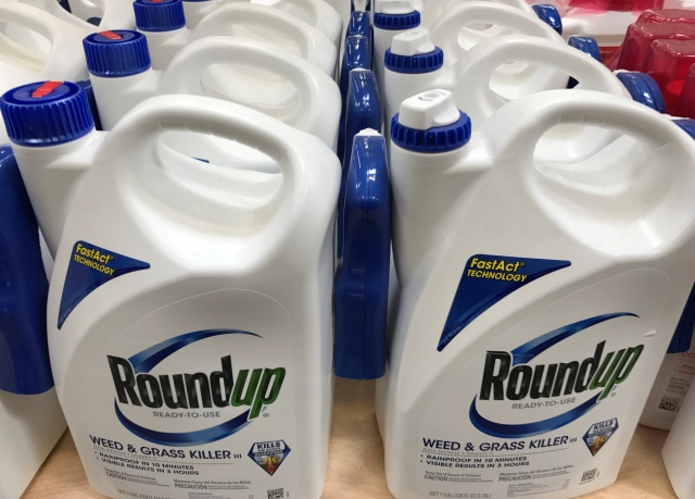 Monsanto Co's Roundup shown for sale in California