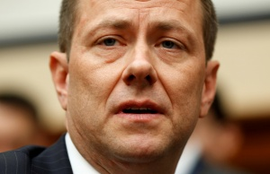 FBI Deputy Assistant Director Peter Strzok testifies before joint House hearing on Capitol Hill in Washington