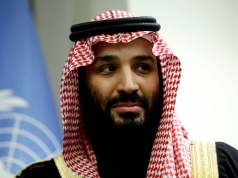Saudi Arabia's Crown Prince Mohammed bin Salman Al Saud meets U.N. Secretary-General Guterres in New York