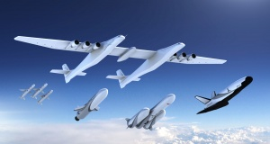 A new family of launch vehicles in artist's rendering image by Stratolaunch Systems Corp the space company of billionaire Microsoft co-founder Paul Allen in Seattle