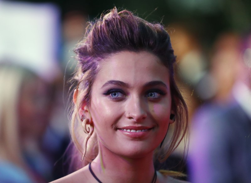 Paris Jackson arrives for the opening ceremony of the 25th Life Ball in Vienna