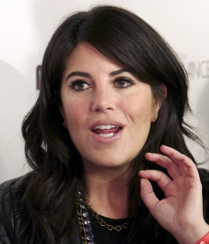 Lewinsky arrives at the #IAmDancingMan party at the Avalon Hollywood in Los Angeles, California