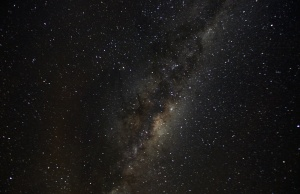 View of the Milky Way from an area of Puyehue National Park near Osorno City