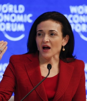 Sheryl Sandberg, Chief Operating Officer and Member of the Board, attends the annual meeting of the World Economic Forum (WEF) in Davos