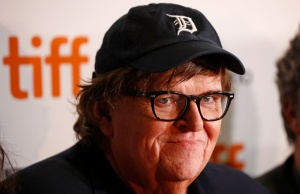 Director Michael Moore arrives for the world premiere of Fahrenheit 11/9 at the Toronto International Film Festival (TIFF) in Toronto