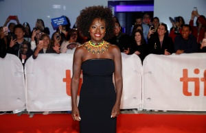 Actor Viola Davis arrives for the world premiere of Widows at the Toronto International Film Festival (TIFF) in Toronto