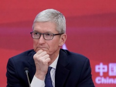 Apple CEO Tim Cook attends the annual session of CDF 2018 in Beijing
