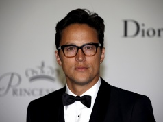 Director Cary Fukunaga poses at the Princess Grace Awards gala in Monaco