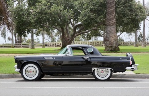 Marilyn Monroe's 1956 Ford Thunderbird convertible in Los Angeles