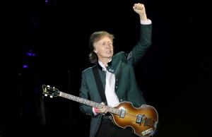 "Paul McCartney performs during the ""One on One"" tour concert in Porto Alegre"
