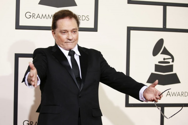 Marty Balin arrives at the 58th Grammy Awards in Los Angeles