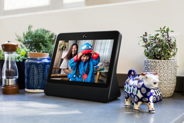 A smart speaker device by Facebook Inc. called Portal