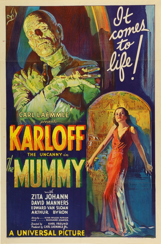 An original 1932 lithographic film poster designed by Karoly Grosz, for the movie