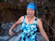 The Wider Image: Hardy Hong Kong swimmers brave busy harbour