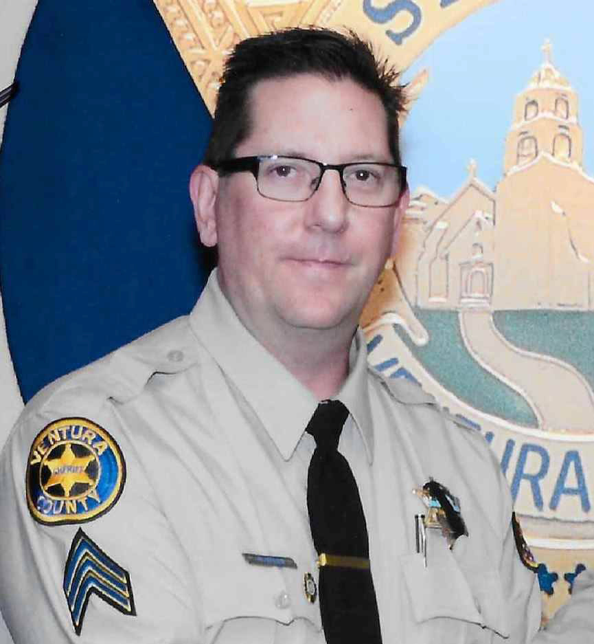 Handout photo of Sheriff's deputy Sergeant Ron Helus, killed when a gunman opened fire at a crowded popular southern California bar in Thousand Oaks, California